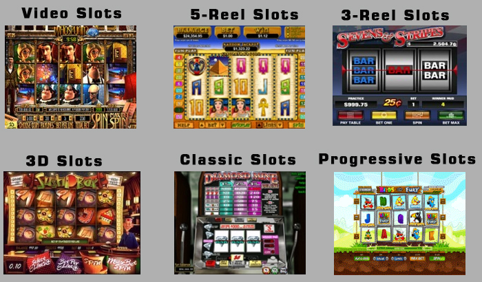 Types of slot machines chris cornells song from casino royale