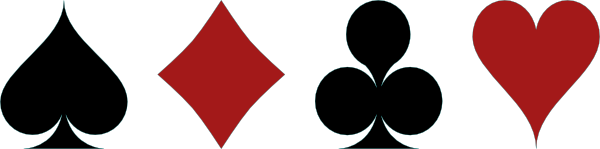 playing card related symbols