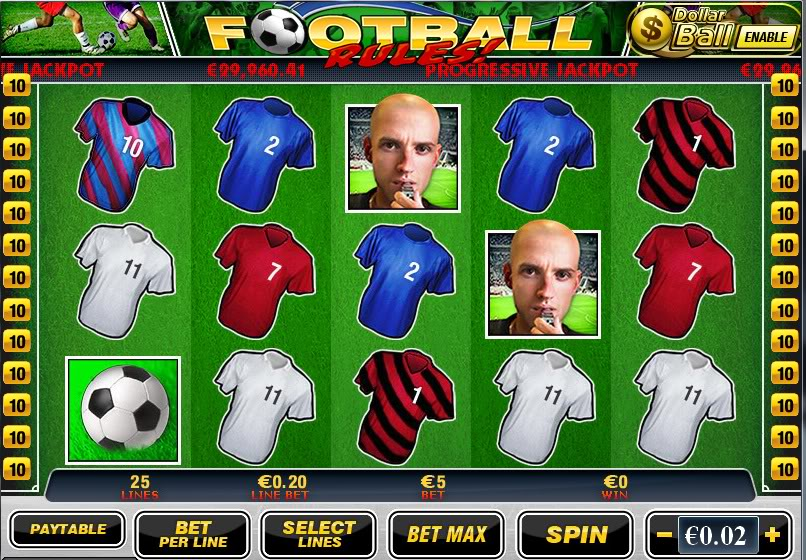Football Themed Slot
