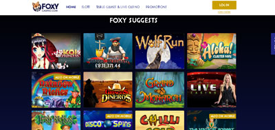 Foxy-casino-website-screen-shot