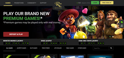 Rich-Casino-website-view