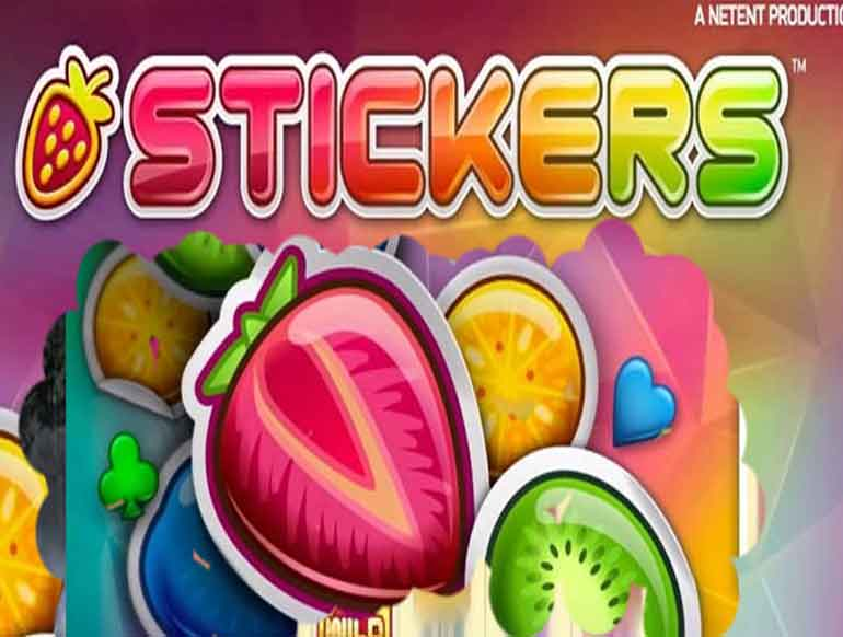 Stickers Slot Machine by NetEnt – Play the Free Online Game