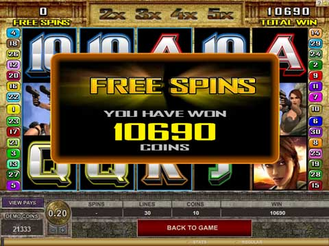 Play Free Slots With Free Spins