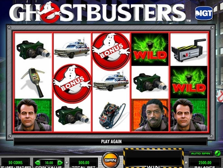 Ghostbusters slot machine android dell laptops with sim card slot