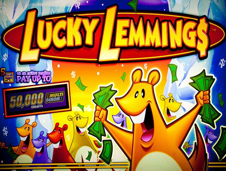 lucky lemmings slot machine software