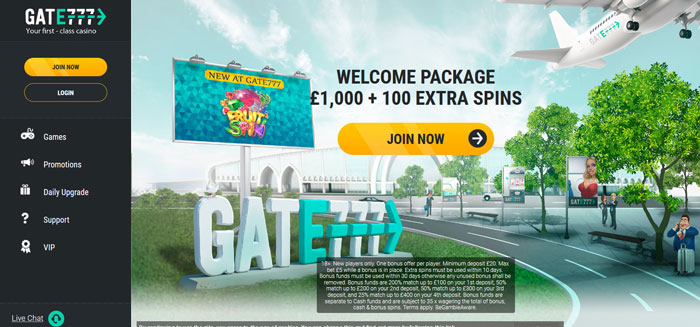 Gate777 Let's Play Slots