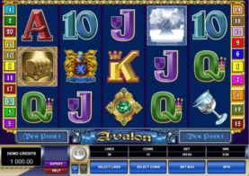 Avalon slot machine screen shot 3
