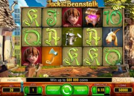 Jack and the Beanstalk Slotmachine screenshot 1