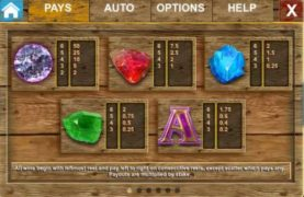 Bonanza slot machine screenshot 2