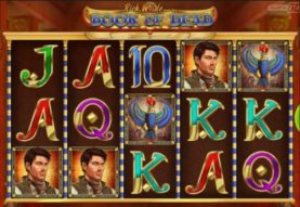 Book of Dead slot screenshot 2