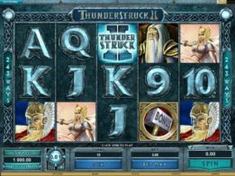 Thunderstruck 2 Slot screenshot 2