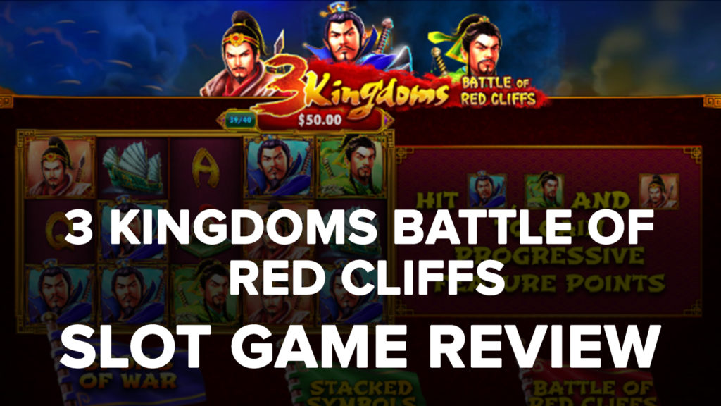 3 Kingdoms Battle of Red Cliffs Slot machine