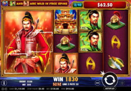 3 Kingdoms: Battle of Red Cliffs - Pragmatic Play Slot Game