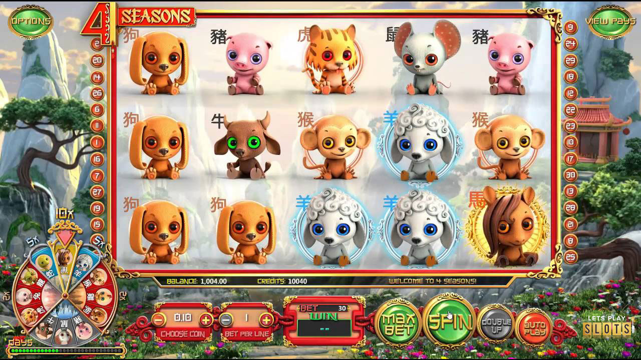 4 Sassons - Betsoft - Slot Game
