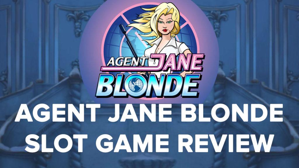 Agent Jane Blonde Slot machine