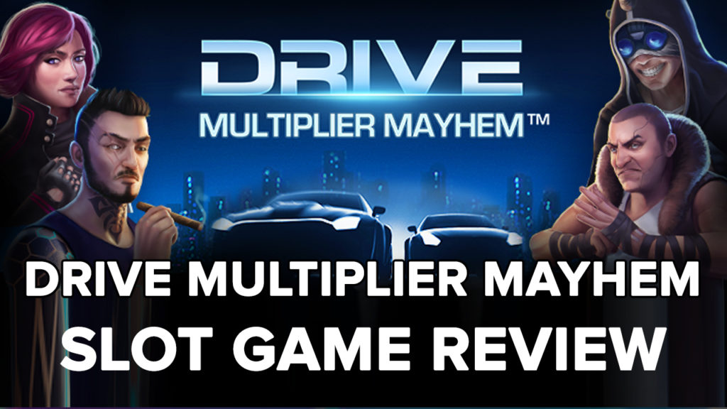 Drive Multiplier Mayhem Slot machine