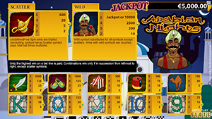 Arabian Nights Screenshot 2