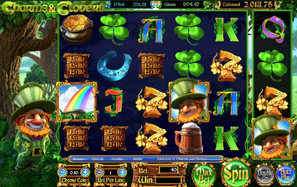 Charms and Clovers slot is a Betsoft's take on Irish-themed games, such as the popular Treasure Ireland and Irish Eyes a leprechaun to run the show of course.There are enough magical features here to make the slot a firm favorite of all players who enjoy the genre.Çankırı