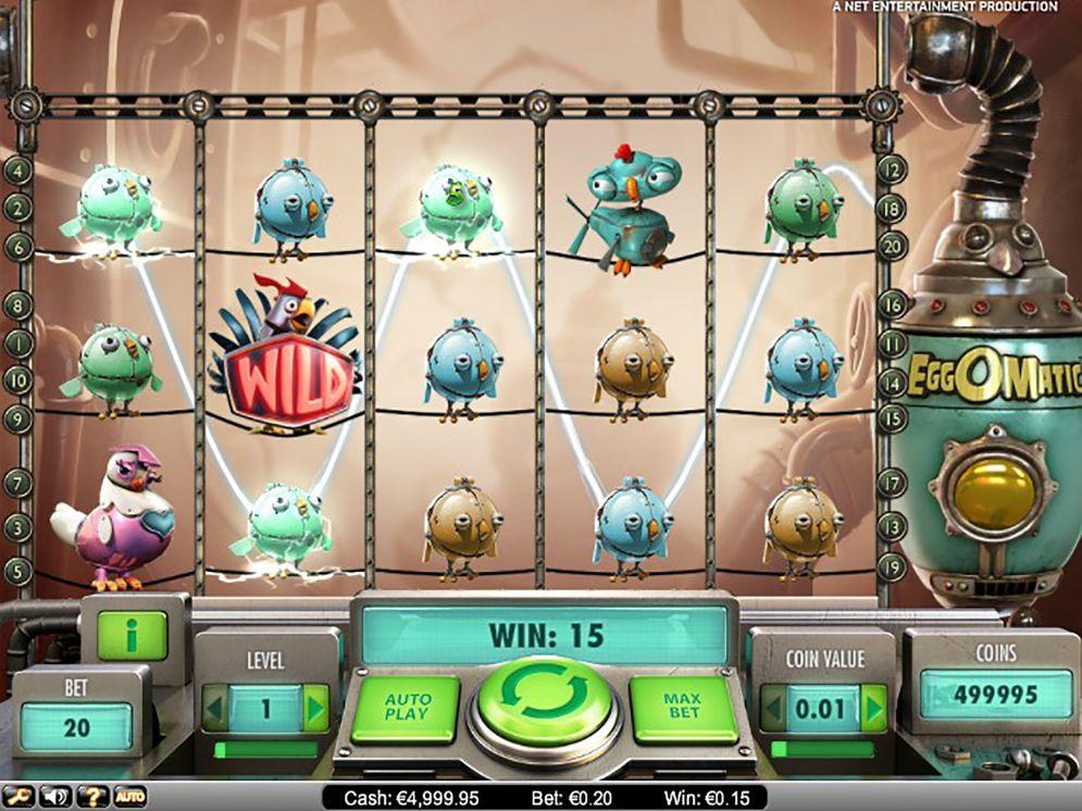 Spiele EggOMatic - Video Slots Online