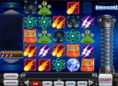 Play Energoonz Slot Machine Free on This Page