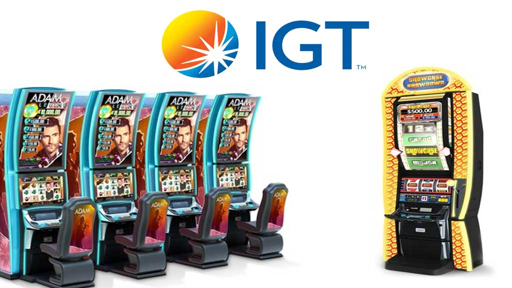 IGT Adam Levine and The Price Is Right Slot Machines