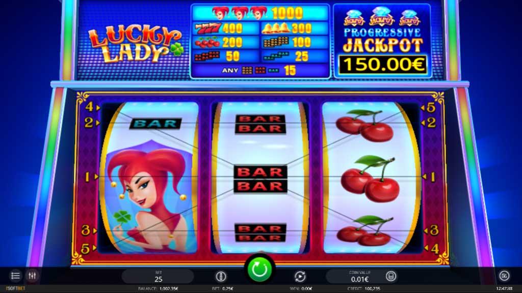 Lucky Lady, iSoftBet
