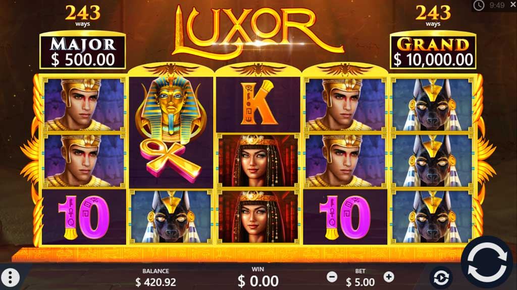 luxor, pariplay