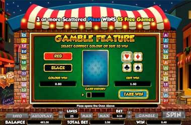 Online Slots: Gamble Feature
