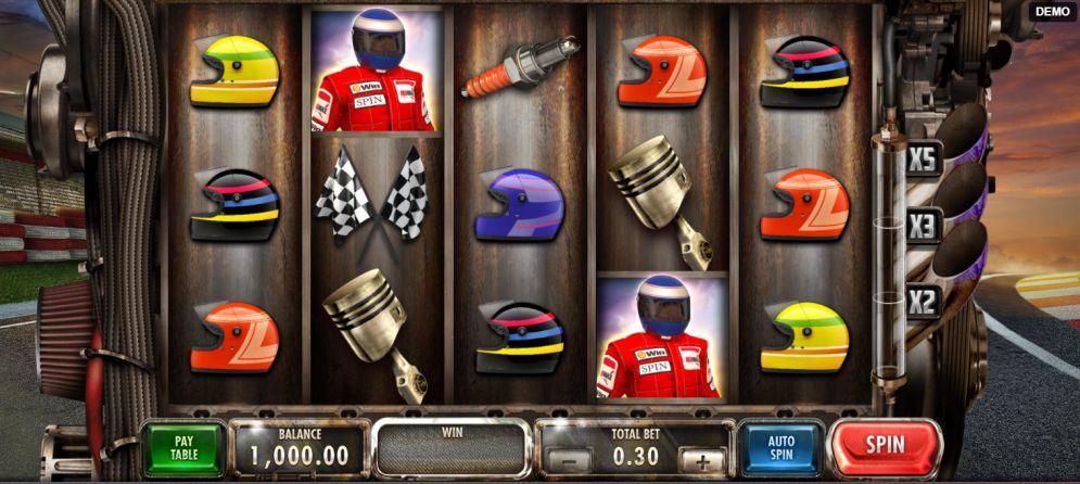 Speed Heroes Slot Machine