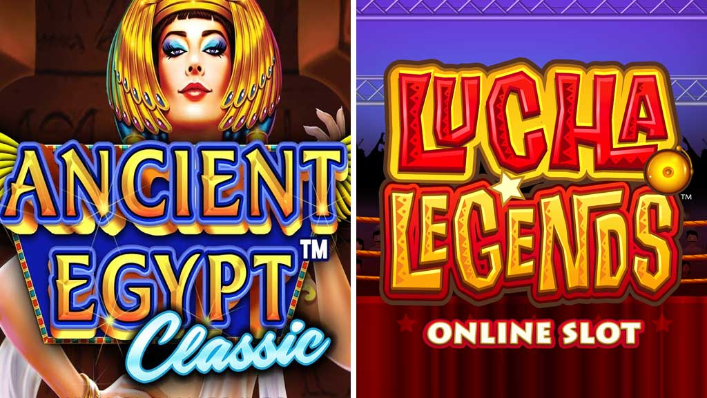 Ancient Egypt Classic, Pragmatic Play and Lucha Legends, Microgaming