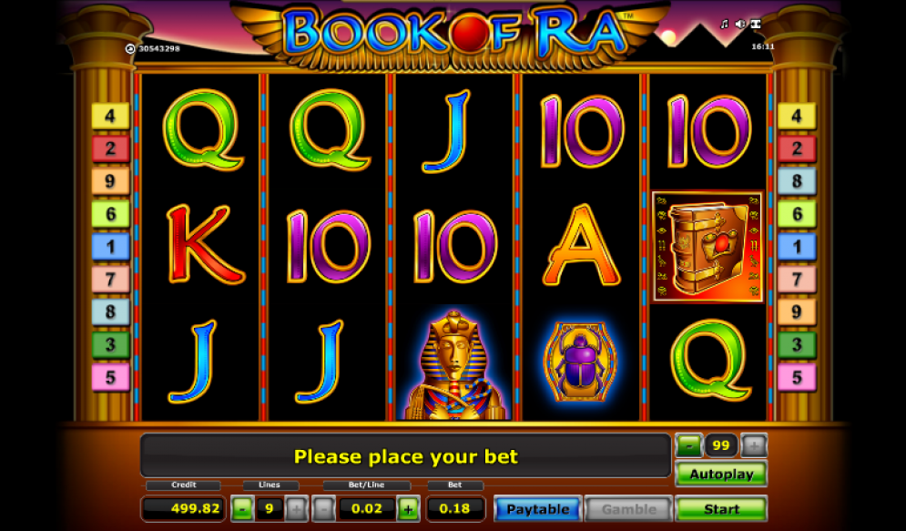 Book of Cleopatra - Play slot machine online for free ...