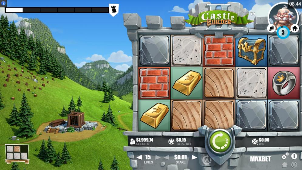 Castle Builder II Free Play Slot