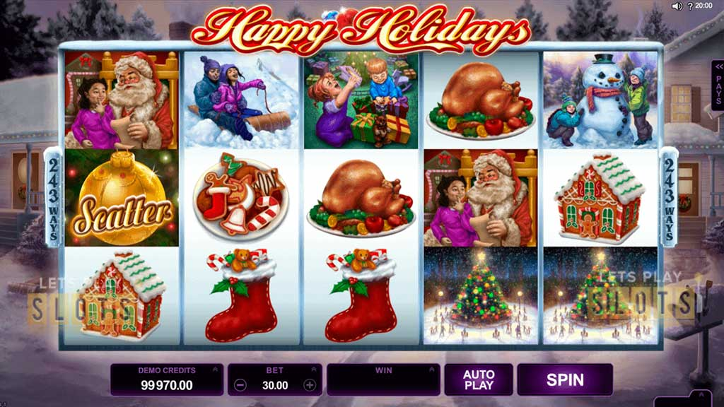 Happy Holidays, Microgaming