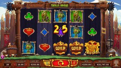 Trolls Bridge, Yggdrasil Gaming