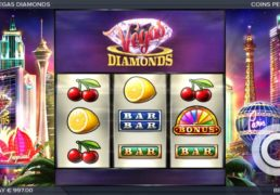 Vegas Diamonds Slots Launched By ELK Studios