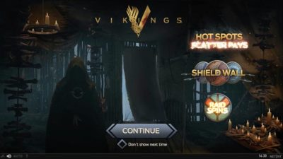 Vikings Slot screen shot 2
