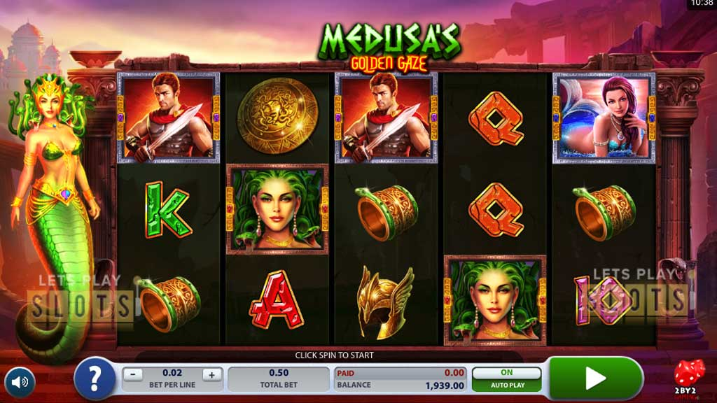 Spiele MedusaS Golden Gaze - Video Slots Online
