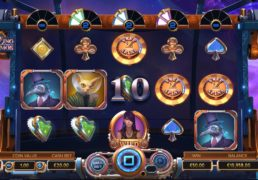 Cazino Cosmos Slot Machine Screenshot 2