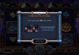 Cazino Cosmos Slot Machine Screenshot 3