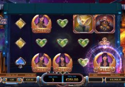 Cazino Cosmos Slot Machine Screenshot 4