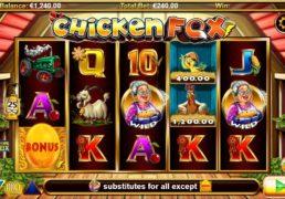 Chicken Fox Slot Machine Screenshot 2