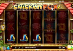Chicken Fox Slot Machine Screenshot 3