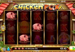 Chicken Fox Slot Machine Screenshot 4