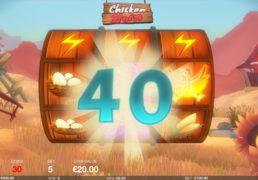 Chicken Storm Slot Machine Screenshot 2