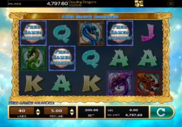 Dazzling Dragons Slot Machine Screenshot 2
