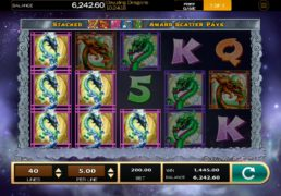 Dazzling Dragons Slot Machine Screenshot 3