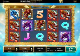 Dazzling Dragons Slot Machine Screenshot 4