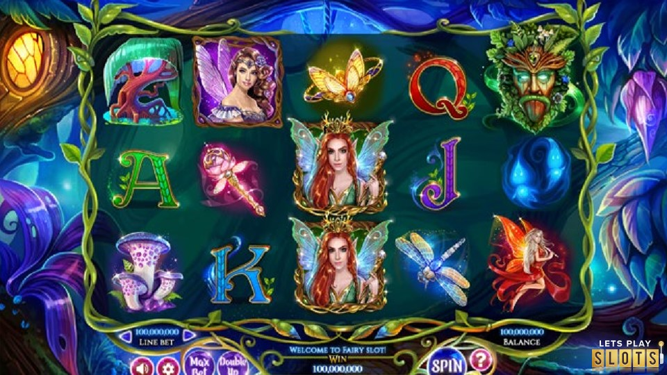 Faerie Spells Slot Machine Screenshot 1