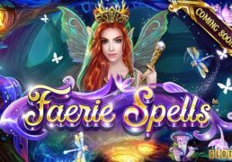 Faerie Spells Slot Machine Screenshot 2