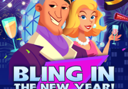 Bling in the New Year Slot Machine Screenshot 3